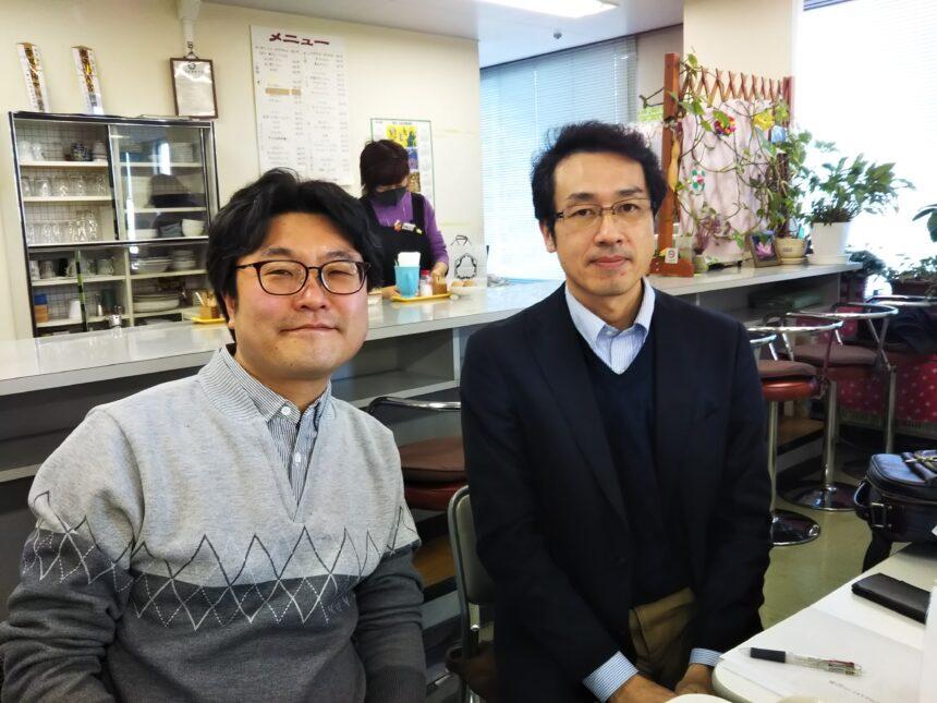堀江先生と洪清泉