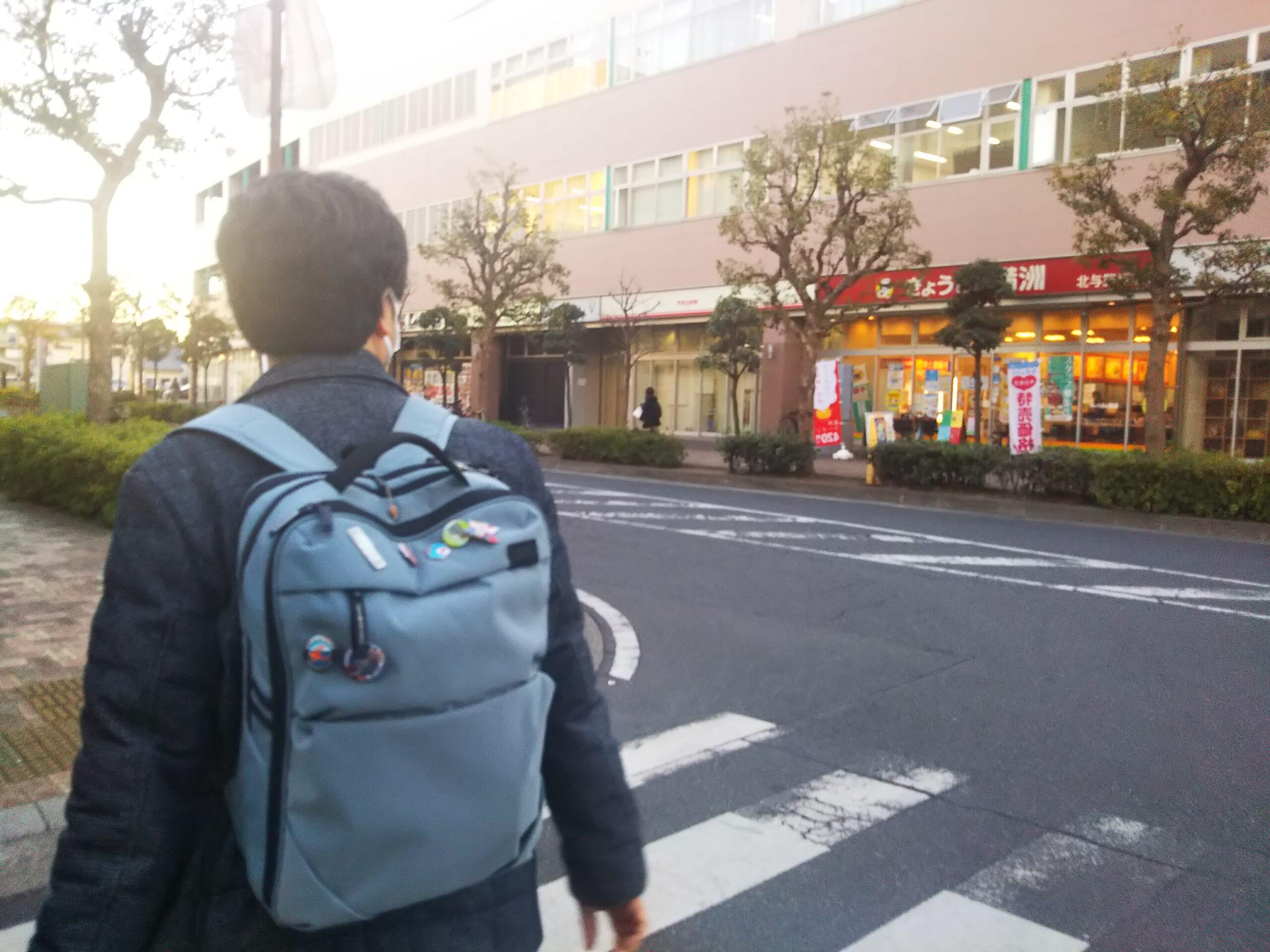 囲碁サロンさいたま新都心への道
