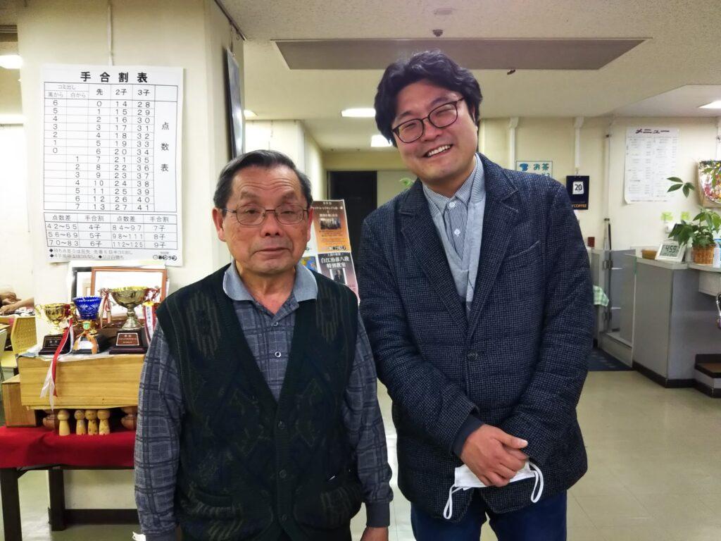 藤崎さんと洪さん
