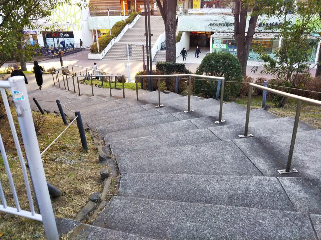 モリシアへの階段