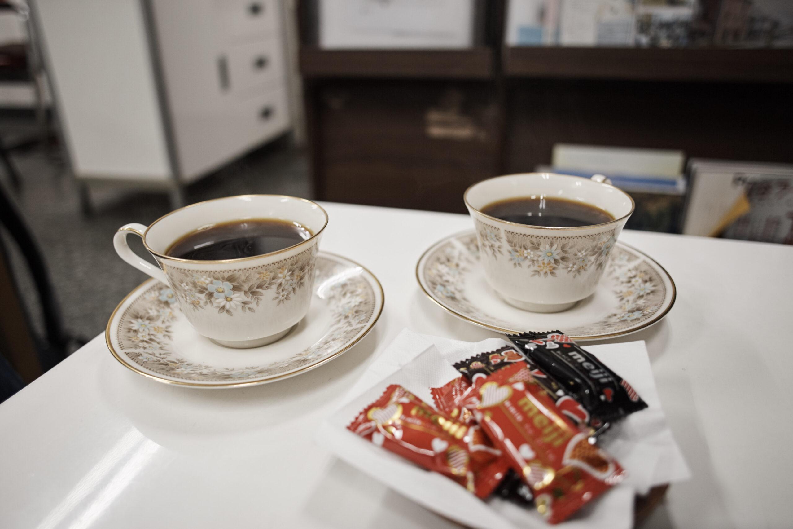 江沢さんのコーヒー