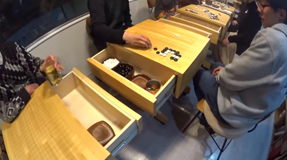 ひだまりの碁盤