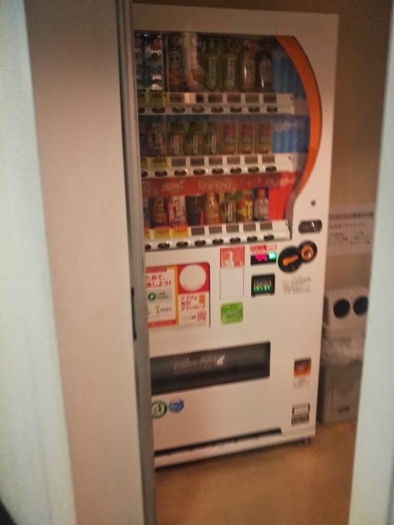 エキニア横浜の8階の自動販売機