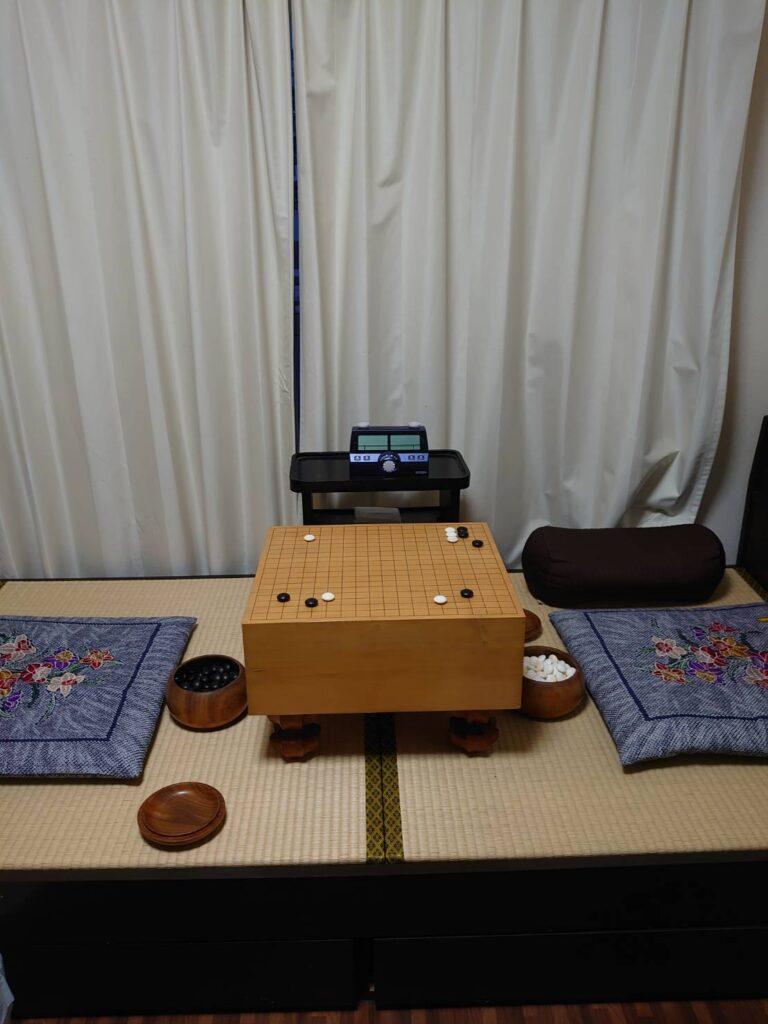 日の出棋院の碁盤