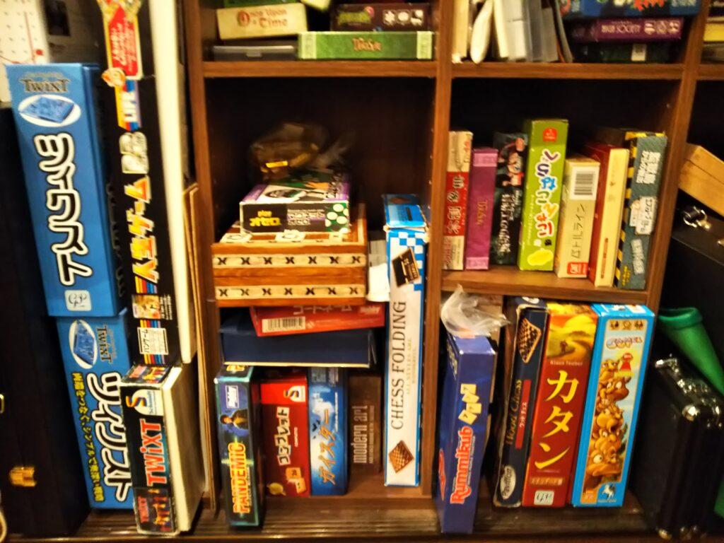 囲碁将棋喫茶樹林のボードゲーム