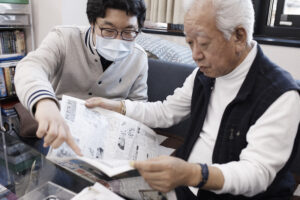 囲碁サロン湘南の取材写真
