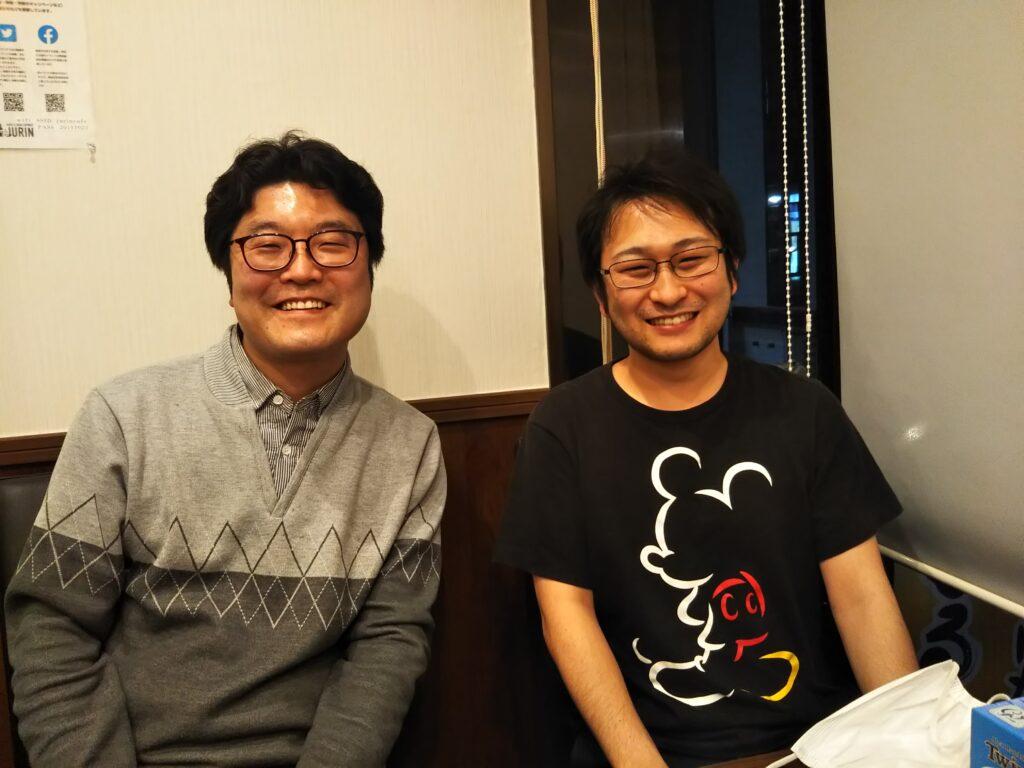 中山さんと洪さんの写真