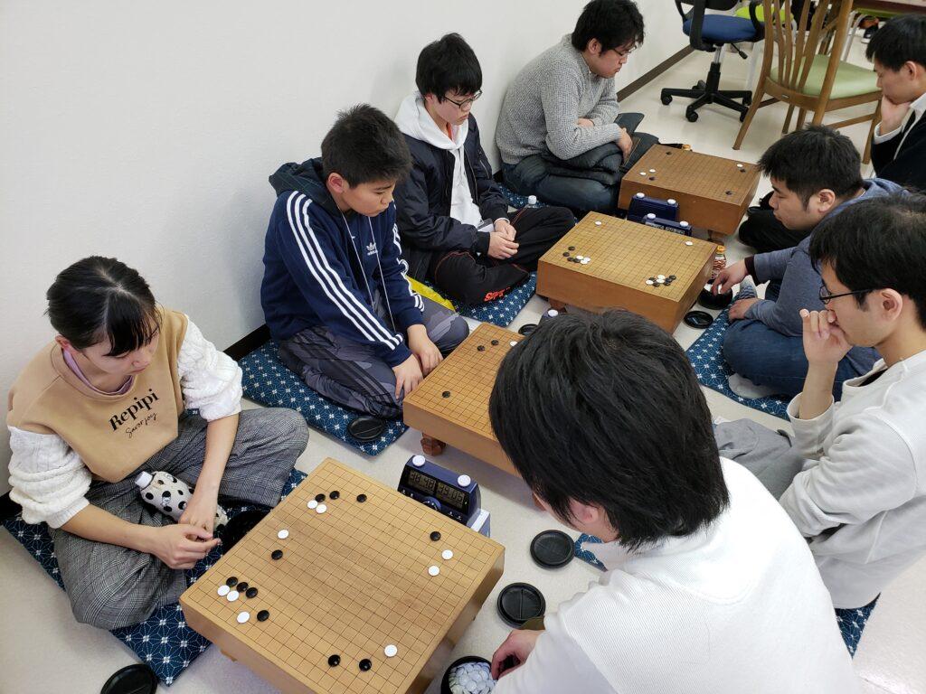 山本囲碁教室の研究会