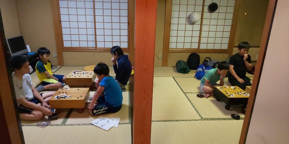 あさひ囲碁教室の様子